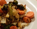 Spicy Roasted California Blend Vegetables