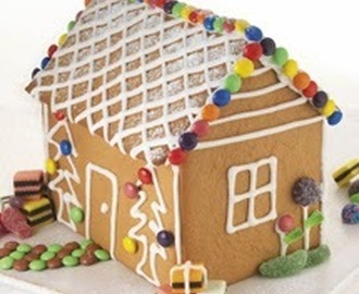 Gingerbread house from our friends at Chelsea Sugar