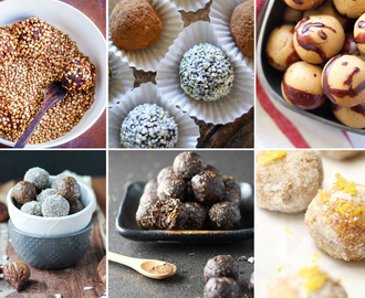 17 Nut Free Bliss Ball Recipes