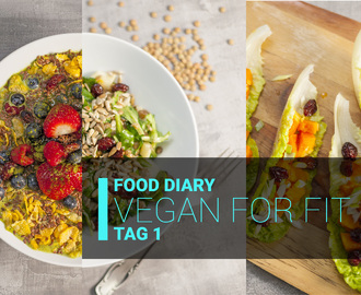 Review + Food-Diary: Vegan for Fit 2 – Gipfelstürmer – die 7 Tage Detox Diät