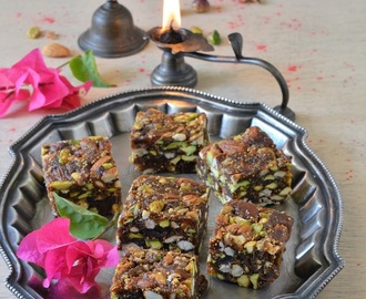 How To Make Anjeer ki Barfi, Anjeer Barfi Recipe