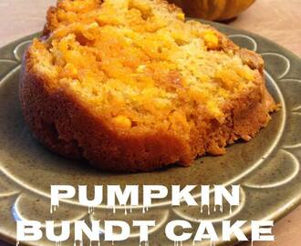 #12Daysof Thanksgiving #Recipes {Day 10} Pumpkin Bundt Cake