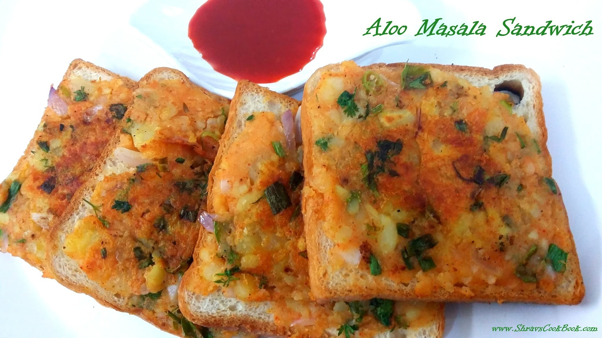 aloo masala sandwich - how to make aloo sandwich recipe or mashed potato sandwich