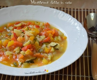 Minestrone fatto in casa