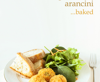 Roasted tomato arancini – baked, not fried