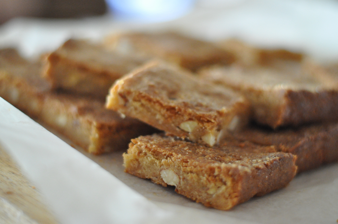Thermomix Recipe :: Almond and Ginger Slice