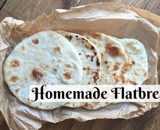 Homemade flatbread – quick, easy and brilliant….