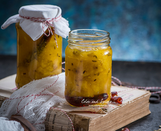 Pineapple chutney...