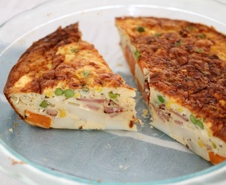 Thermomix Bacon & Vegetable Quiche