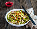 Tofu, Soy Bean and Almond Stir Fry (BBC)