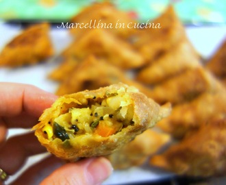 Samosas - A Baker's Odyssey Personal Challenge #40