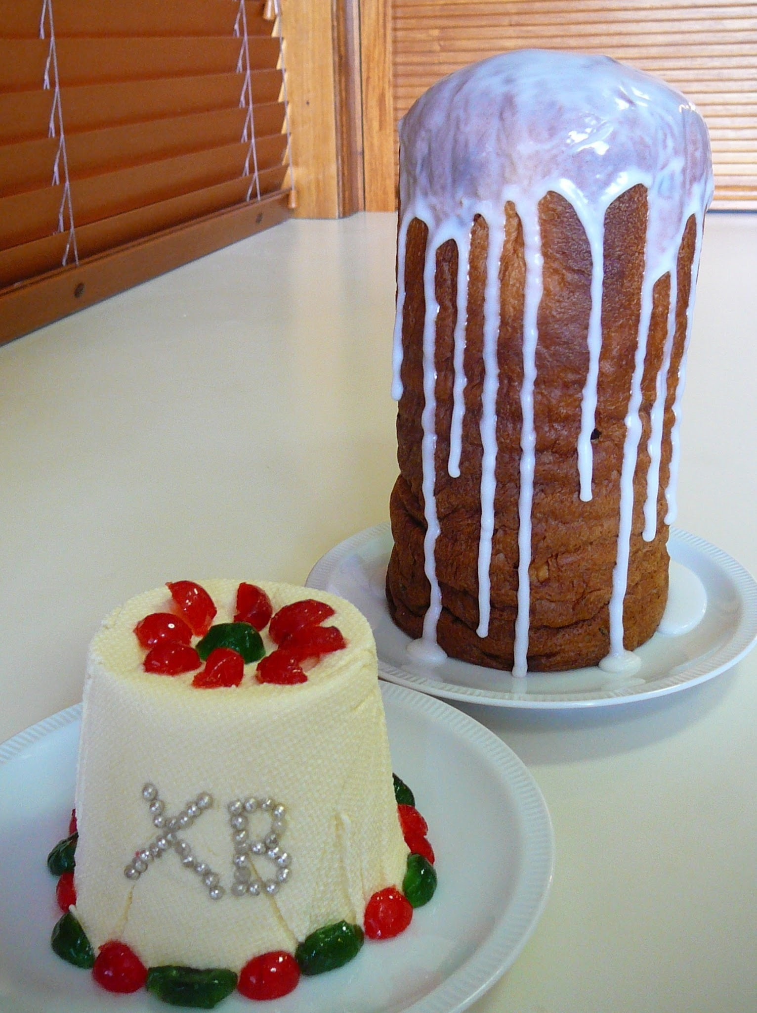 A Baker's Odyssey Personal Challenge #9 Kulich and #10 Paskha