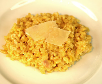 Romantic Dinner – Prosecco and Parmesan Risotto