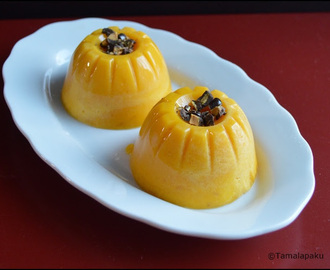 Mango Pudding (With Agar Agar)