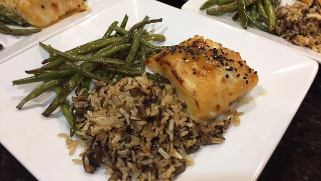 Miso Glazed Cod (another version)
