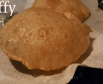 PURI OR POORI RECIPE - HOW TO MAKE PUFFY /FLUFFY soft poori