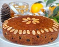 Boiled Fruit Cake (Whole grain) | Simple Christmas Cake