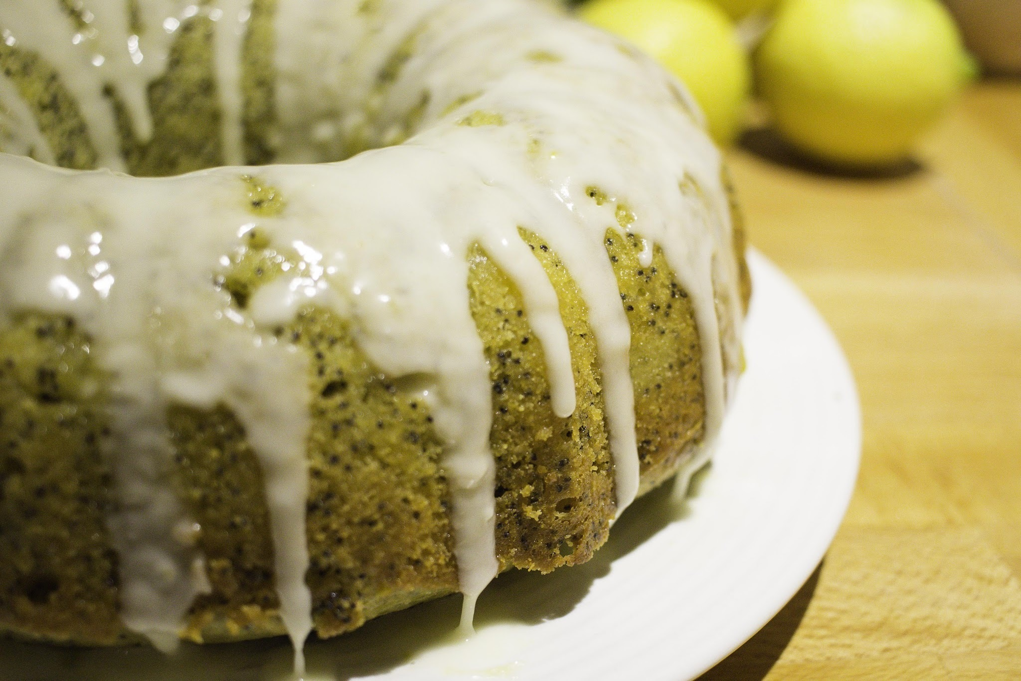 Lemon Poppyseed Bundt Cake