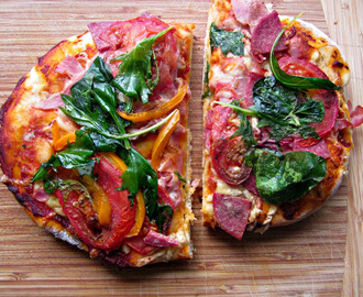 Easy Home Made Pizza -