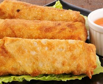 Make Egg Rolls with Mushroom Chicken Egg Rolls Recipe