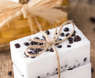 Wild Blueberry Vanilla Shea Butter Soap