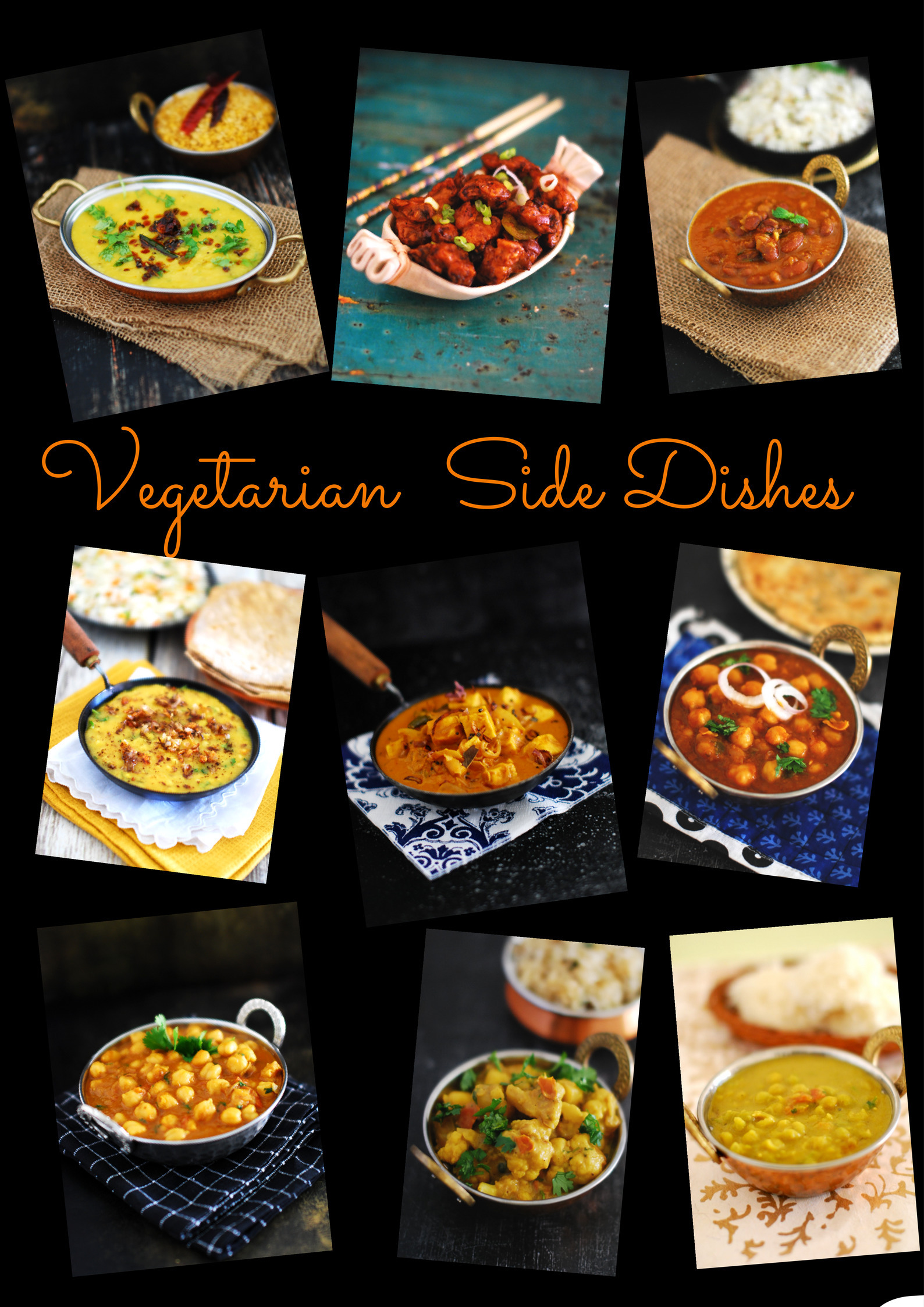 Vegetarian Side Dish (Recipe Round Up)