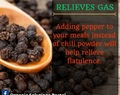 Health  benefits of peppercorns