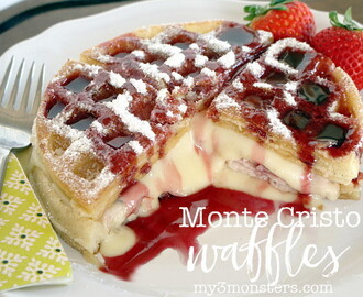 FOOD || Breakfast Night with Monte Cristo Waffles