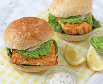 Healthy Fish Finger Sandwich & Optimum HealthyFry Air Fryer