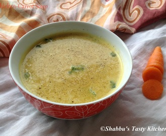 Chicken - Carrot Soup