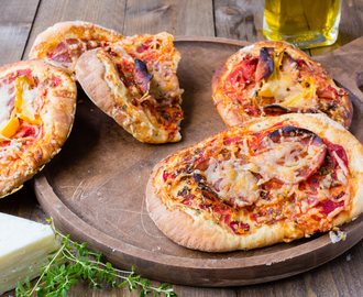 Thermomix Mini Pizzas