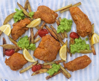 Spicy Battered Fried Fish.