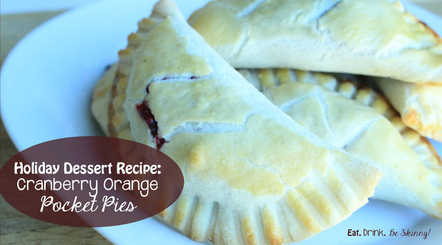 Holiday Dessert Recipe: Cranberry Orange Pocket Pies