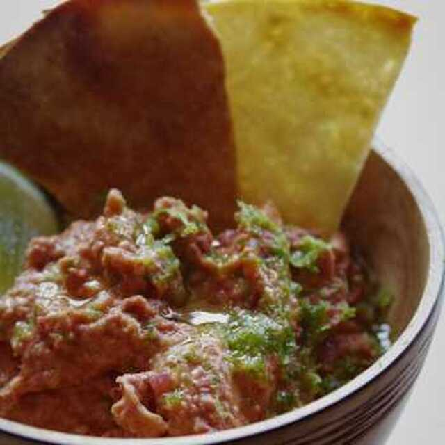 Red Kidney Bean and Lime Dip