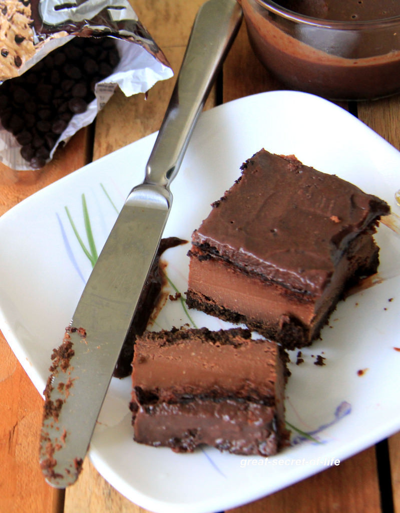 Chocolate Cheesecake recipe - Chocolate Cheese cake with chocolate ganache - Eggless Baking recipes - Baking recipes