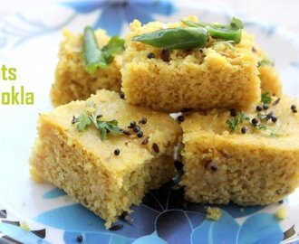 Oats dhokla recipe – How to make oats dhokla recipe  – oats recipes