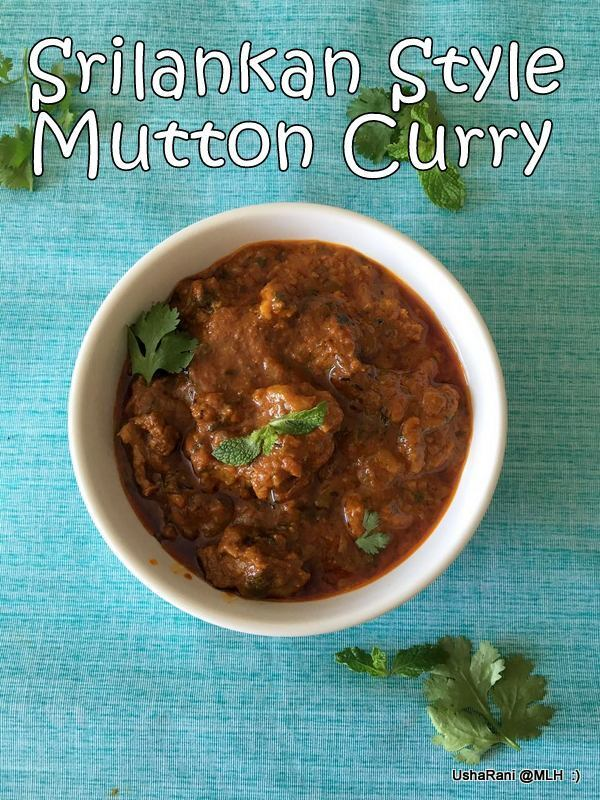 Srilankan Style Mutton Curry | Mutton Gravy In Srilankan Method | Mutton Recipes For Rice and Chapathi | Side dish For Chapathi