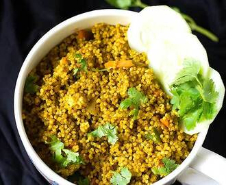 Curried Millets In Mug Recipe – Easy Millet Recipes