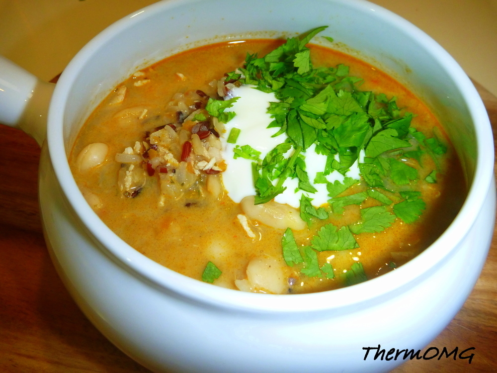 Korma Wild Rice and Butter Bean Soup