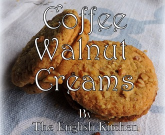 Coffee and Walnut Creams