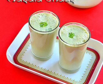 Masala Chaas Recipe – North Indian Masala Buttermilk Recipe