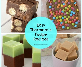 Easy Thermomix Fudge Recipes