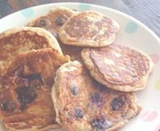 Sugar free wholemeal pikelets – school lunch idea