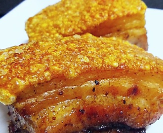 Air-fried Chinese Roast Pork Belly