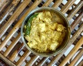 Bhapa Paneer - Bengali style Steamed Cottage Cheese with mustard and spices