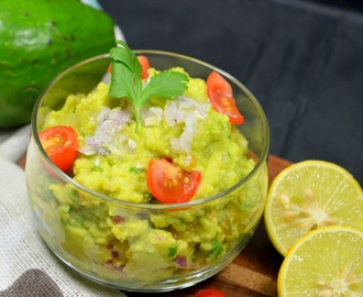 Mexican Guacamole | Homemade Mexican Avocado Dip