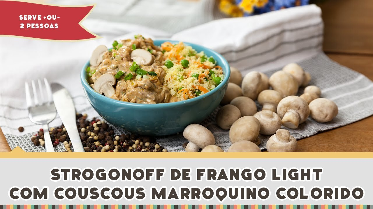 Strogonoff de Frango Light