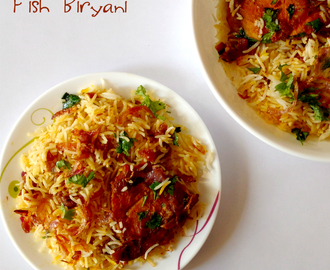 Fish Biryani Recipe | How to Make Fish Biryani