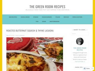 THE GREEN ROOM RECIPES