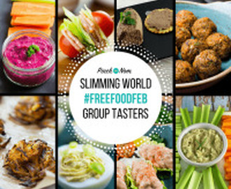 Slimming World Syn Free Group Tasters #FreeFoodFeb